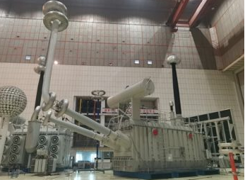 Baobian Electric undertook the delivery of the first high-end converter transformer for Qingnan Converter Station